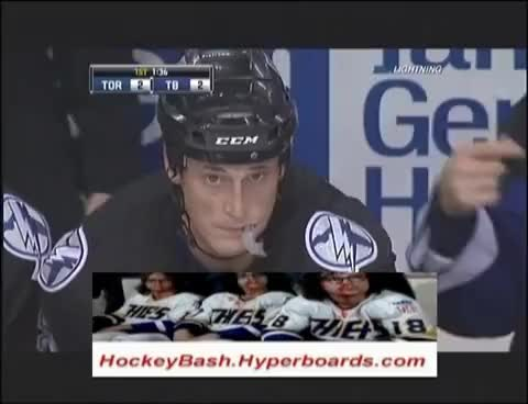 Watch and share Tampa Bay Lightning GIFs and Vincent Lecavalier GIFs on Gfycat