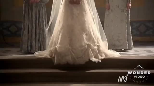 Watch and share Reign 1x13 Mary And Francis Wedding Scene GIFs on Gfycat