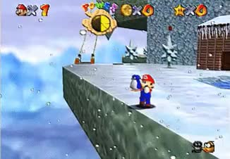 Watch and share Super Mario 64 GIFs and Penguin Baby GIFs on Gfycat