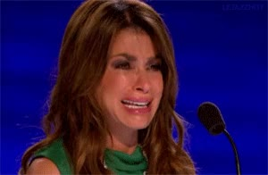 Watch and share Paula Abdul GIFs and Crying GIFs on Gfycat