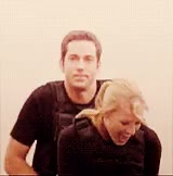 Watch Zachary Levi, Yvonne Strahovski, gif GIF on Gfycat. Discover more related GIFs on Gfycat