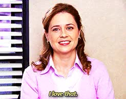 Watch and share Customer Loyalty GIFs and Jenna Fischer GIFs on Gfycat