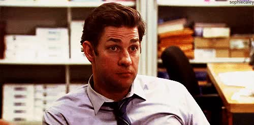 Watch and share John Krasinski GIFs and The Office GIFs on Gfycat