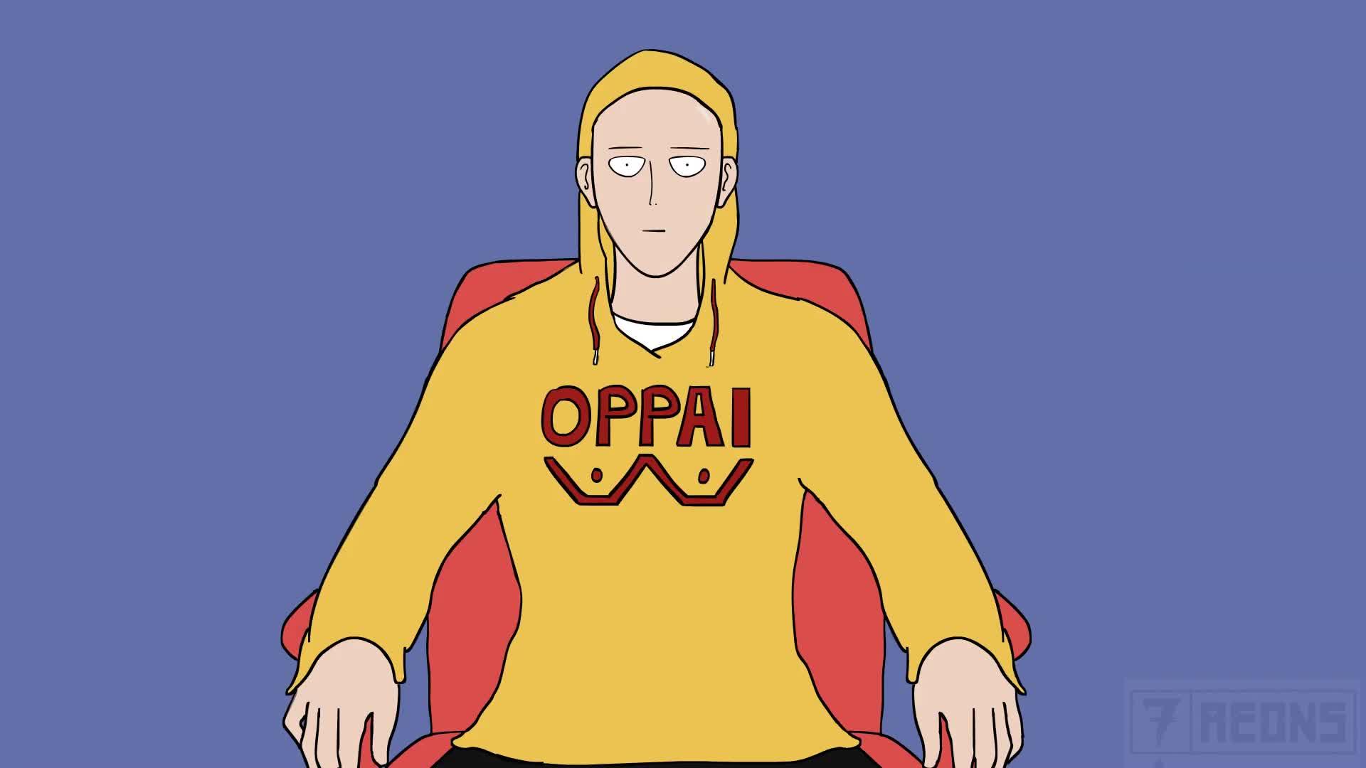 7 aeons, Saitama, adobe animate, adobe flash, adobeanimate, adobeflash, anime, animefunny, animememes, ginseng, indie musician, memes, one punch man, one punch man season 2, one-punch man, onepunchman, onepunchmanmemes, oppal hoodie, One Punch Ginger GIFs