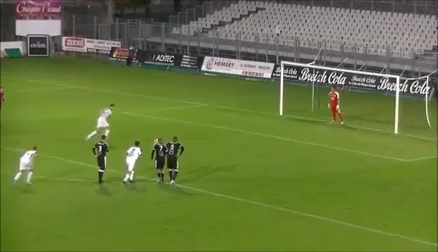 Watch and share CFA 2 - Vannes OC 3 - 0 TA Rennes : Le Sauvetage De Jean-François Bédénik GIFs on Gfycat