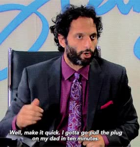 Watch and share Jason Mantzoukas GIFs on Gfycat