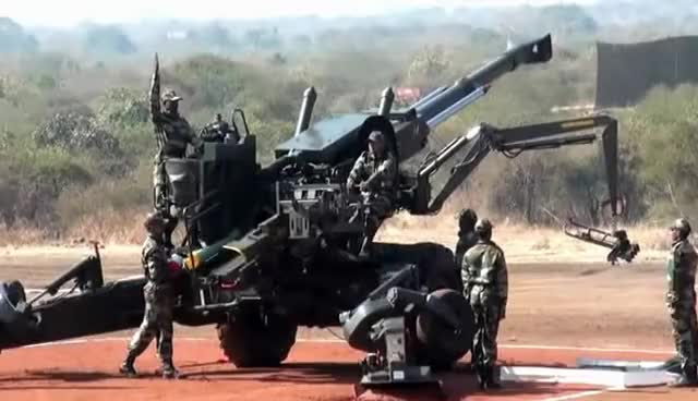 Watch and share 155mm Field Howitzer 77B: The Bofors Gun GIFs on Gfycat