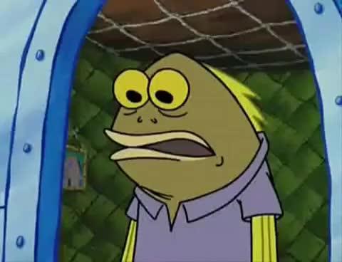 "Watch and share Sponge Bob ""Did You Say Chocolate"" GIFs on Gfycat"
