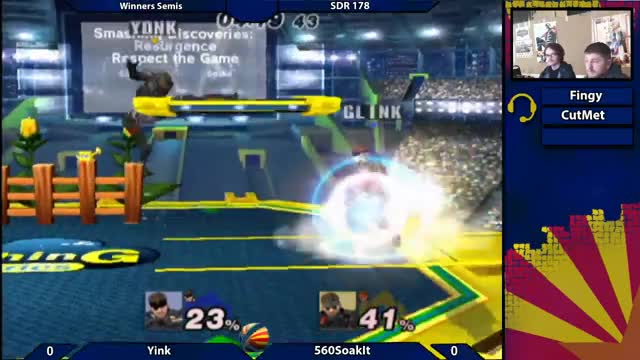 Watch SDR178 Winners Semis: Yink (Blue) vs 560soakit (Red) GIF on Gfycat. Discover more arizona, az, biweeklies, bros, brothers, melee, pm, project, projectm, smash GIFs on Gfycat