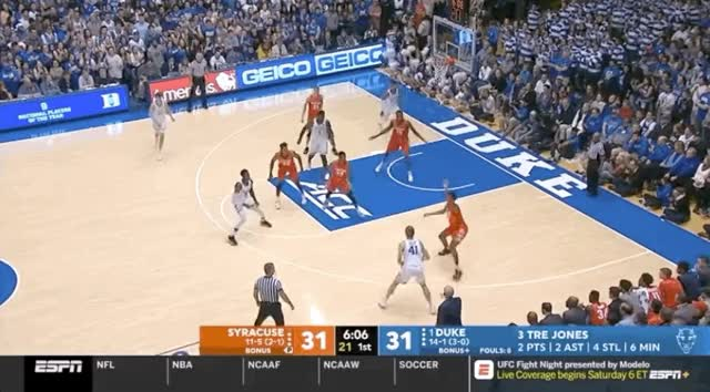 Watch and share Basketball GIFs and Rj Barrett GIFs by kyleboone on Gfycat