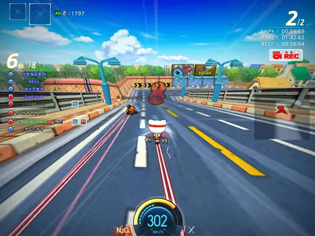 Watch and share Crazyracing Kartrider 2019.02.14 - 15.57.36.65.DVR GIFs by sgwj0801 on Gfycat