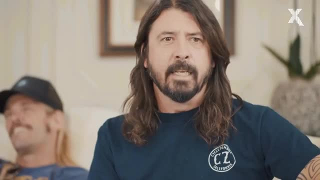 Watch Dave Grohl impersonates Christopher Walken GIF on Gfycat. Discover more 105, Live, RADIO, celebrity, celebs, dave, dave grohl, foo, interview, moyles, official, vaughan GIFs on Gfycat