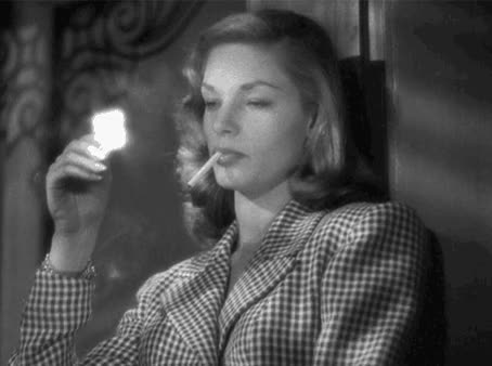 Watch Film GIF on Gfycat. Discover more lauren bacall GIFs on Gfycat