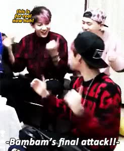 Watch this GIF on Gfycat. Discover more bambam, mark, markbam GIFs on Gfycat