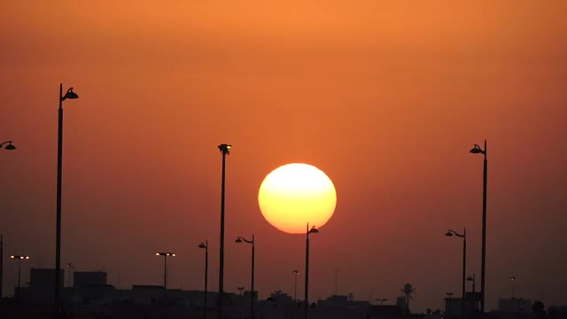 Watch and share Khubar City Sunset GIFs by saleh on Gfycat
