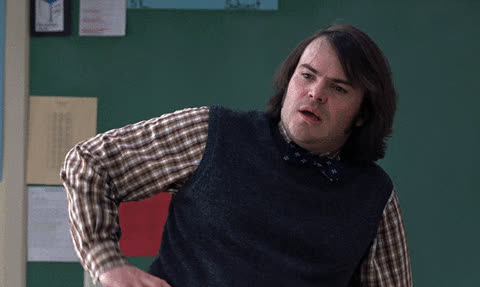 Jack Black, thanks,  GIFs