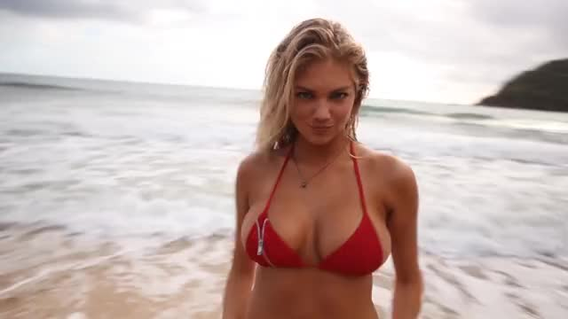 kate Upton's melons are pumping amazing