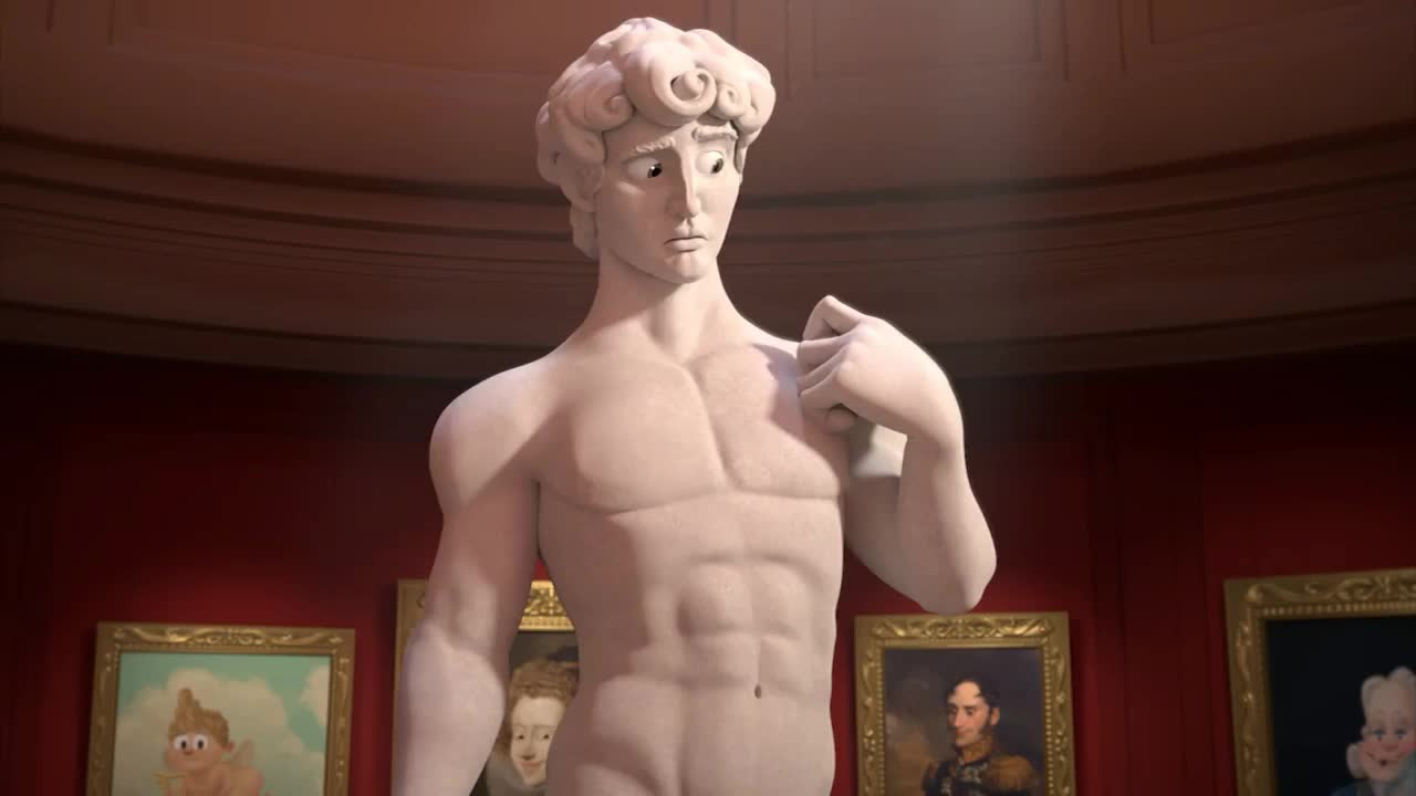 GIF Brewery, animated, animation, ashamed, blush, blushing, embarrassed, epic, funny, god, hide, lol, my, oh, omg, privates, shame, shy, statue, Embarrassed statue animation GIFs