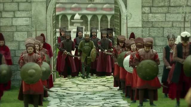 Watch Selim II exiting the palace- Muhteşem Yüzyıl 132.Bölüm GIF by History N 1066 (@historyn1066) on Gfycat. Discover more Selim II, army, exit, gold, muhteşem yüzyıl cast, muhteşem yüzyıl english, muhteşem yüzyıl hürrem sultan, muhteşem yüzyıl izle, muhteşem yüzyıl kösem, muhteşem yüzyıl kösem fragman, muhteşem yüzyıl müzikleri, muhteşem yüzyıl oyuncuları, muhteşem yüzyıl son bölüm, muhteşem yüzyıl youtube, palace, warrior GIFs on Gfycat