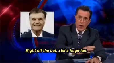Watch and share Stephen Colbert GIFs and Colbert Report GIFs on Gfycat
