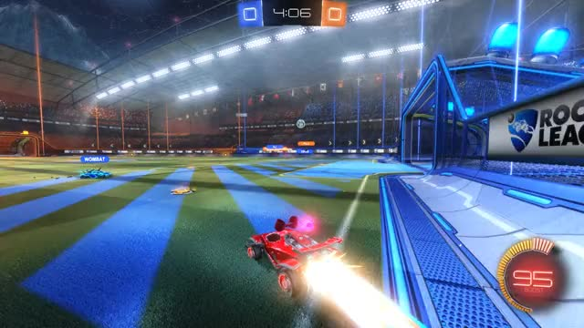Watch Goal by approaching from the far side GIF by @pxlbuzzard on Gfycat. Discover more Rocket League, rocketleague GIFs on Gfycat