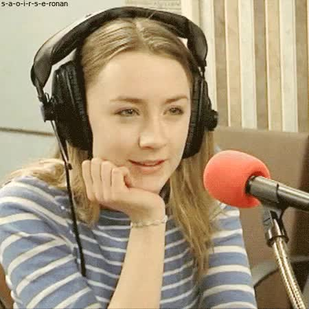 Watch this trending GIF on Gfycat. Discover more cute, gif, perfect, princess, radio interview, saoirse, saoirse ronan GIFs on Gfycat
