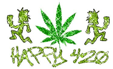 Watch and share Happy 420 animated stickers on Gfycat