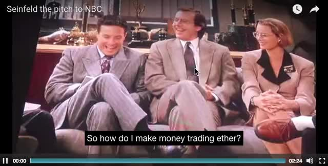 Watch Jerry and George explain ETH trading to traditional traders GIF on Gfycat. Discover more Cryptocurrency, Ethereum GIFs on Gfycat