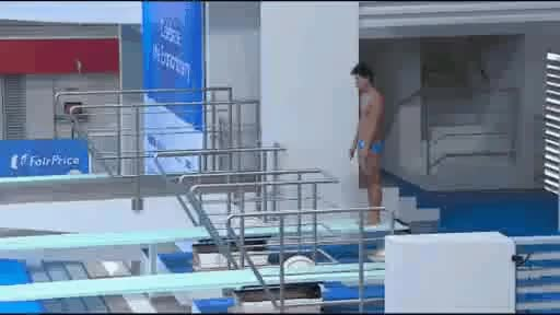 Watch Textbook diving from the Philippines GIF on Gfycat. Discover more related GIFs on Gfycat