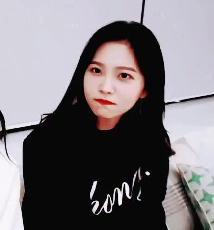 Watch and share Mattie - AHHHH THE WAY YERI SHYLY LOOKS DOWN AFTER SHE SMILES SHE MAKES ME WANT TO PINCH HER CHEEKS AND COO AT HER GIFs by reeprevgu on Gfycat