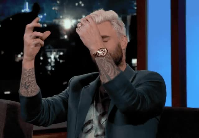 Watch this adam levine GIF by Reactions (@ioanna) on Gfycat. Discover more 5, adam, adam levine, all, birth, feel, in, it, jimmy, kimmel, labor, levine, maroon, maroon 5, shocked, show GIFs on Gfycat