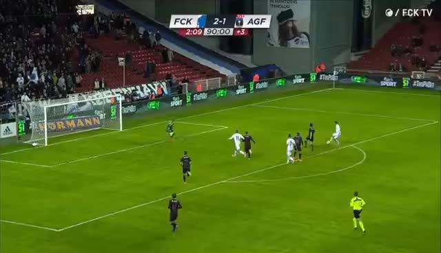 Watch Highlights: FCK 2-1 AGF (DBU Pokalen) GIF on Gfycat. Discover more related GIFs on Gfycat