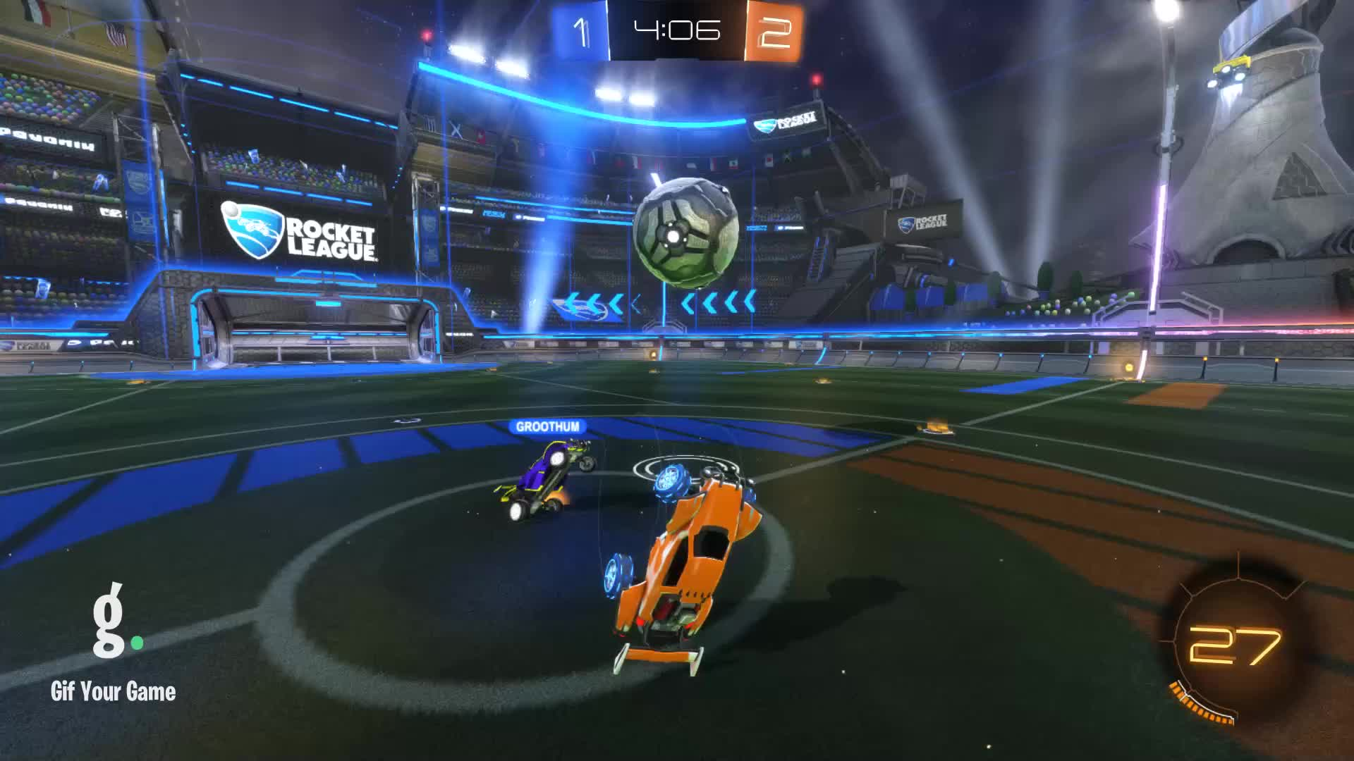 Gif Your Game, GifYourGame, Goal, Not soussouni1, Rocket League, RocketLeague, Goal 4: Not soussouni1 GIFs