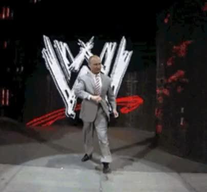 Watch Vladimir Putin WWE entrance vince walk GIF on Gfycat. Discover more squaredcircle GIFs on Gfycat