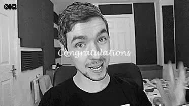 Watch and share Congratulations Therealjacksepticeye, On Hitting Six Million GIFs on Gfycat