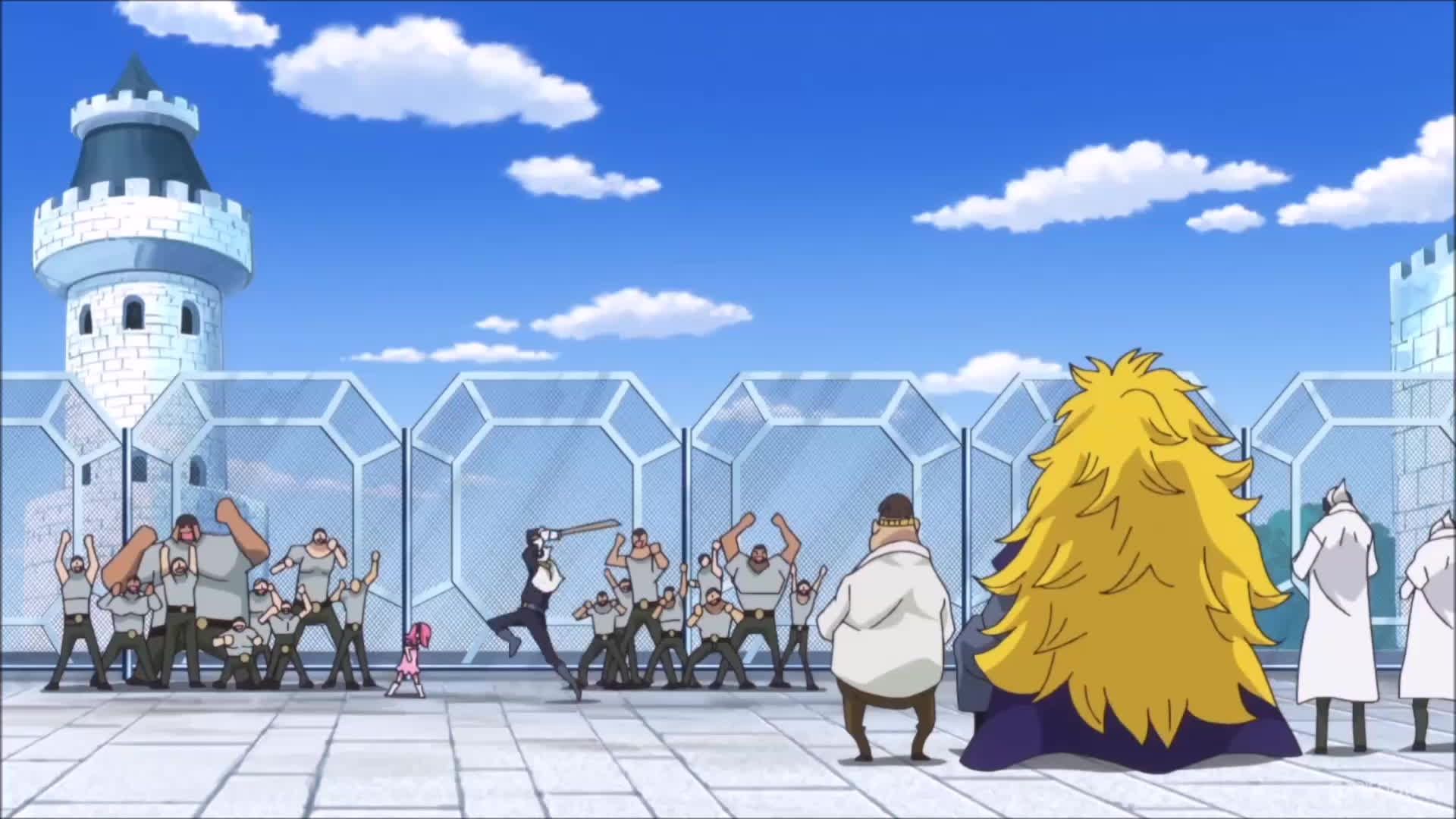 d1bfd452695 The Vinsmoke siblings are victorious. One Piece Ep 804 GIF by Funimation  ( funimation)