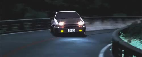 Watch Initial D GIF on Gfycat. Discover more related GIFs on Gfycat