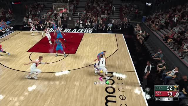 Watch Así se ve NBA 2K18   Evento #RunTheNeighborhood GIF by @strawberryshortcake on Gfycat. Discover more español, gameplay, hispano GIFs on Gfycat