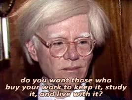 Watch and share Andy Warhol GIFs and My Gif GIFs on Gfycat