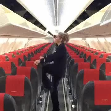 Watch and share Perfect For Mile High Club Bec GIFs on Gfycat