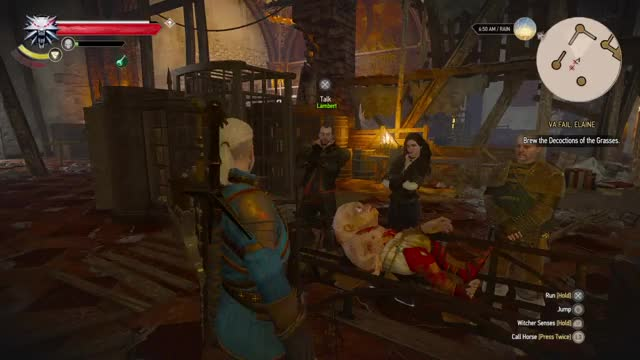 The Witcher 3 Wild Hunt Coral Gif Find Make Share Gfycat Gifs