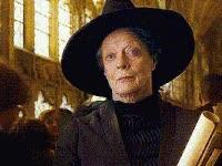 Watch and share Harry Potter, Maggie Smith, Professor Minerva Mcgonagall, Minerva, Mcgonagall GIFs on Gfycat