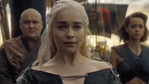 Watch Emilia Clarke GIF by Reaction GIFs (@sypher0115) on Gfycat. Discover more Celeb_gifs, GOT, GameOfThrones GIFs on Gfycat