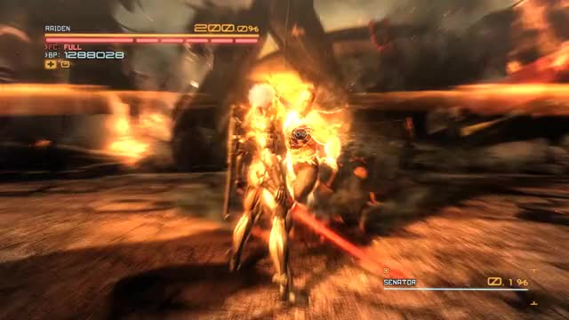 Watch and share Metal Gear Rising Revengeance Armstrong Finisher GIFs by queckquack on Gfycat