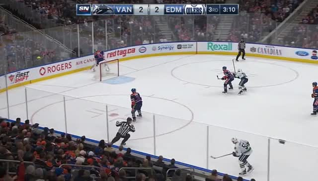 Watch and share Mark Fayne In D-zone GIFs by cultofhockey on Gfycat