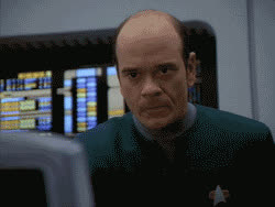 reaction, robert picardo, star trek, star trek beyond, star trek enterprise, star trek into darkness, star trek nemesis, star trek voyager, the doctor, voy, voyager, The Doctor Reaction 1 GIFs