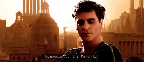 Watch and share Emperor Commodus GIFs and Commodus Quotes GIFs on Gfycat