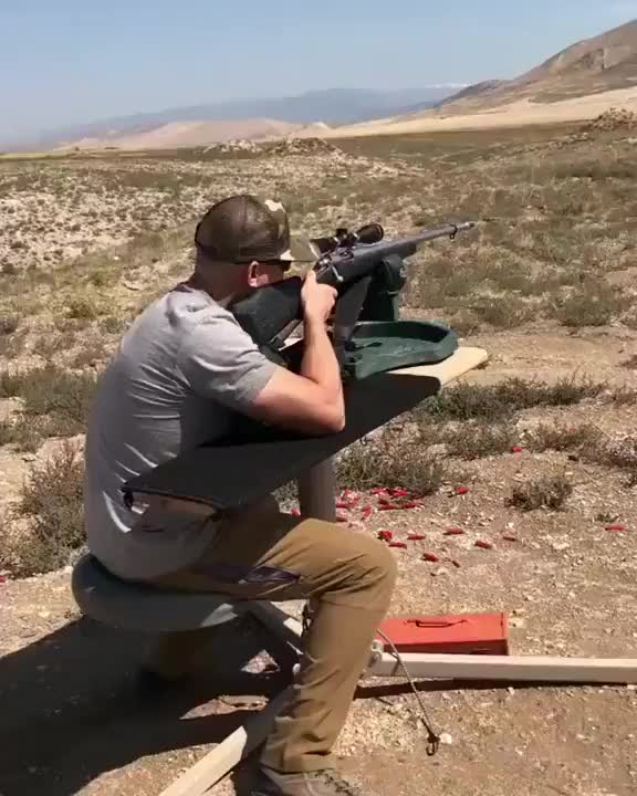Watch Snipers Gun Totally Explodes In His Face! GIF on Gfycat. Discover more aewesome, amazing images, beautiful GIFs on Gfycat