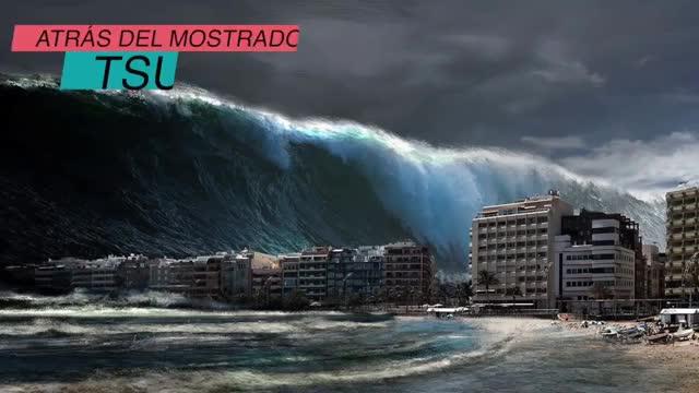 Watch (TSUNAMI, GIF on Gfycat. Discover more Mar, Oceano, Storm, big, biggest, meg, nazar, olas, record, sea, surf, tormentas, tsunami, typhoon, wahoo, waves, xxl GIFs on Gfycat