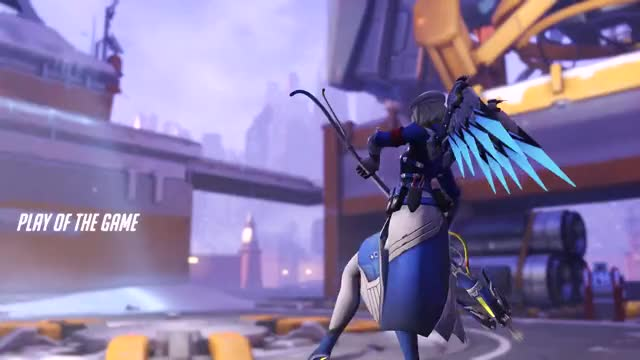 Watch and share Mercy Valkyrie Insanity GIFs by saravian on Gfycat